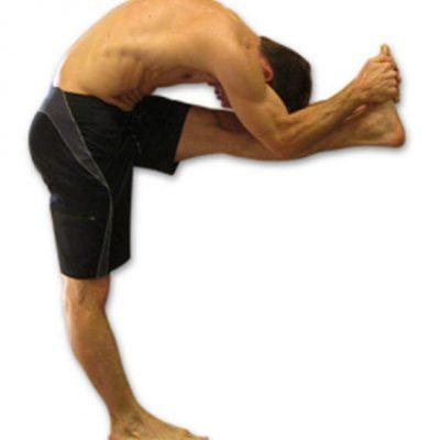 Scott Helton - standing head to knee